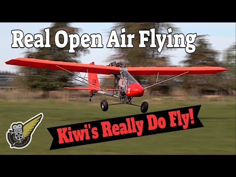 Open Air Flying - the Rans S-17 Stinger microlight