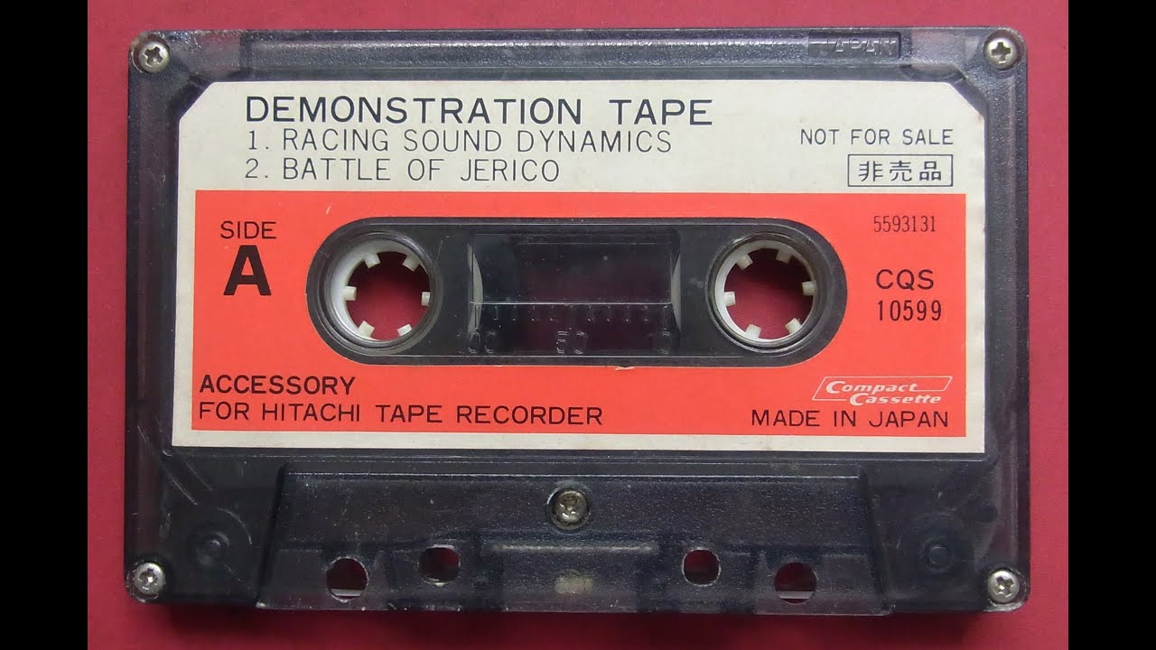 Compact Cassette Demonstration Tape - Hitachi Tape Recorder