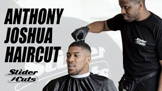 Anthony Joshua- Talks Tyson Fury, Deontay Wilder and family life in the barber chair-SliderCuts