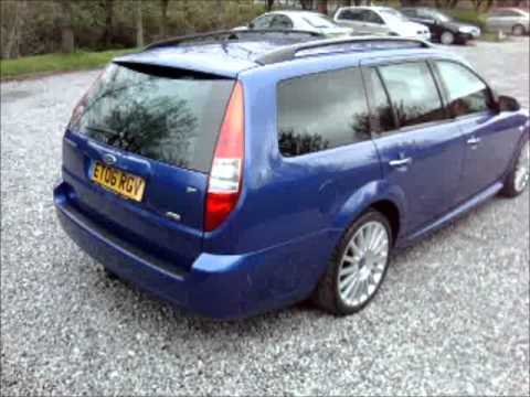 2006 ford mondeo 2 2 tdci st 155 estate youtube. Black Bedroom Furniture Sets. Home Design Ideas