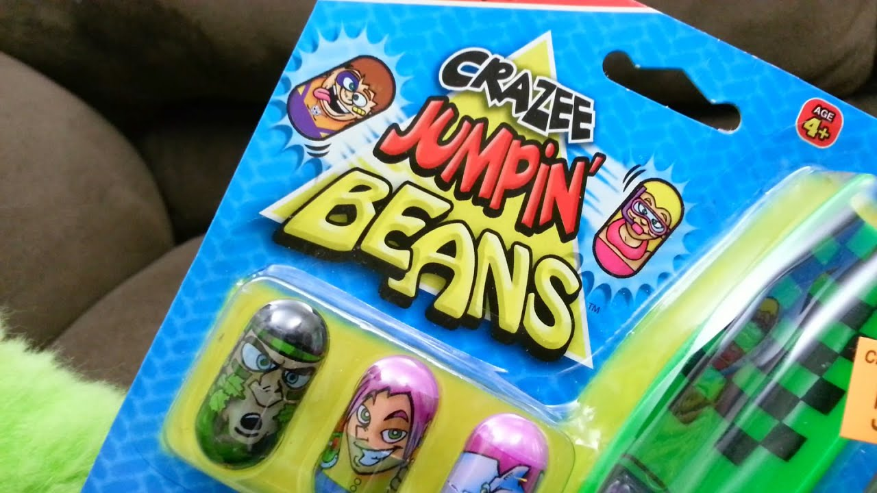 crazee jumpin beans instructions