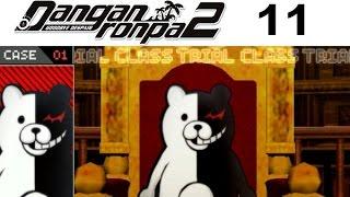 DANGANRONPA 2 Goodbye Despair Walkthrough 11 - Chapter 1 Class Trial Case 01 (1/4)