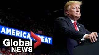 Trump holds 2020 campaign rally in Michigan