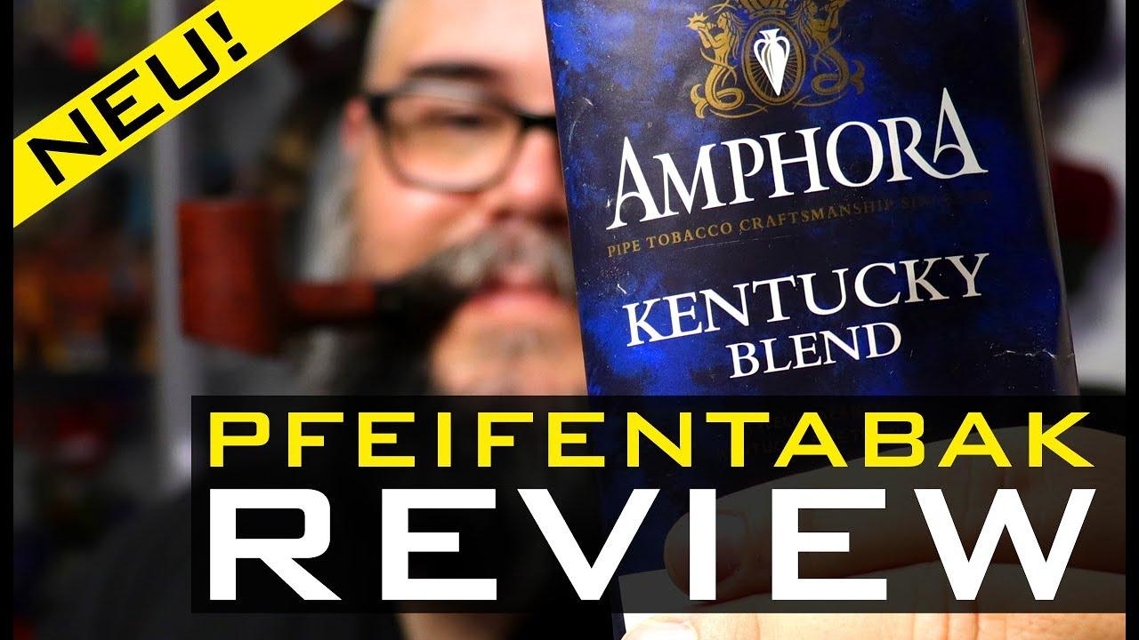 Pfeifentabak Review 🍂 - AMPHORA - KENTUCKY BLEND  (🇬🇧 Subtitles)