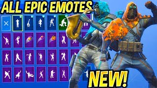 "*NEW* ""INSIGHT"" & ""LONGSHOT"" Skins Showcase With All EPIC Fortnite Dances & Emotes..!"