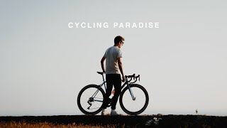THIS PLACE IS CYCLING PARADISE.