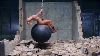 Repeat youtube video Kopie von Miley Cyrus - Wrecking Ball (UNCENSORED)