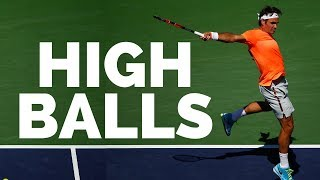 How To Handle High Backhands In Tennis