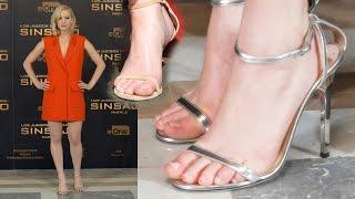 Jennifer Lawrence piedi nudi feet barefoot