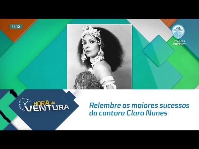 Hoje é dia de #tbt: Relembre os maiores sucessos da cantora Clara Nunes