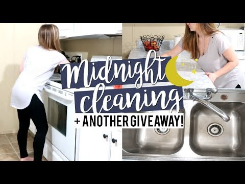 🌙-midnight-clean-with-me-+-giveaway-|-relaxing-night-time-cleaning