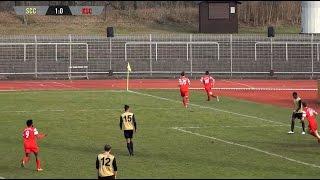 SC Charlottenburg - Köpenicker SC (Berlin-Liga) - Spielszenen   SPREEKICK.TV