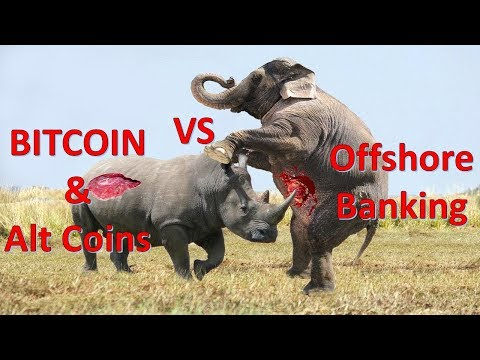 Bitcoin & Cryptocurrency vs Offshore accounts -market quick review- Urdu Hindi