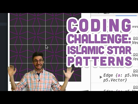 Coding Challenge #54: Islamic Star Patterns