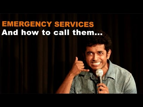 Calling Emergency Services In India - Naveen Richard   Stand Up Comedy