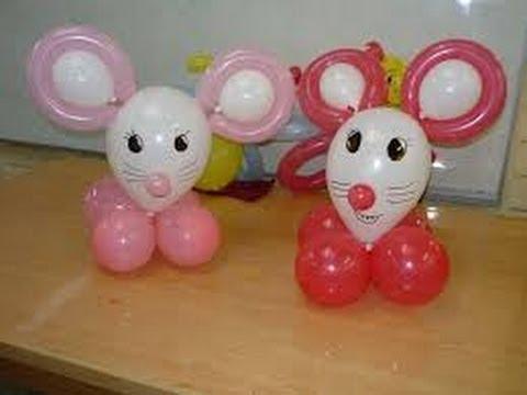 Manualidades con globos para ni os 5 youtube - Manualidades con globos ...