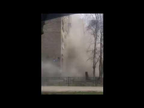 В жилом доме в Орехово-Зуево произошел взрыв бытового газа, в результате обрушились несколько этажей