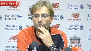 Liverpool 1-0 Swansea - Jurgen Klopp