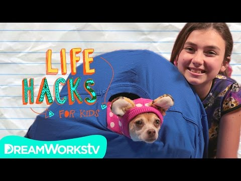 Cat Hacks (With Your Dog) I LIFE HACKS FOR KIDS