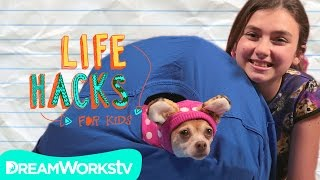This Video Is Unavailable.     Cat Hacks (with Your Dog) I Life Hacks For Kids