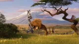 Самые ржачные моменты Мадагаскар 3 = )