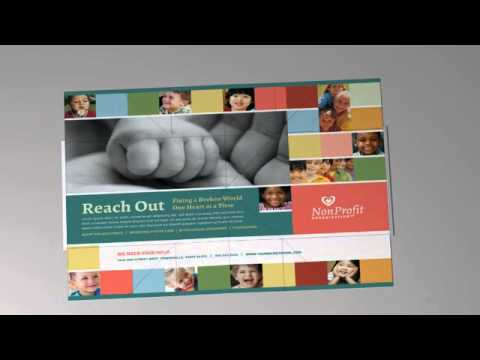 Exploding Page Pop Up Direct Mail - Reach Out Design