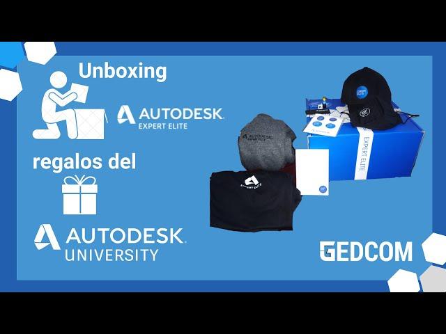 Unboxing regalo de Autodesk para Navidad | Autodesk Expert Elite