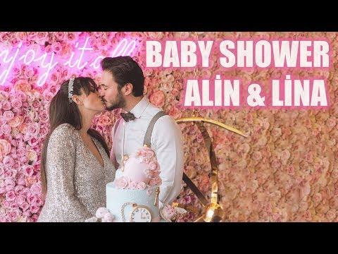 BABY SHOWER PARTİMİZ! | ALİN VE LİNA'YA MESAJ VAR! | PELİN & ANIL