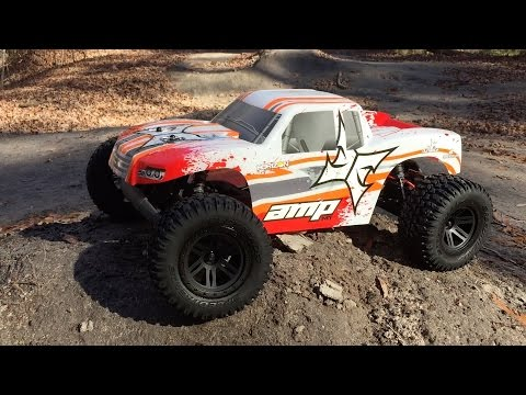 ECX AMP Monster Truck First Run & Review