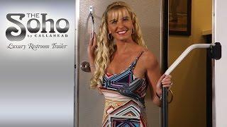'The SOHO' Luxury Portable Restroom Trailer   CALLAHEAD   NY   Portable Restroom Trailer Video