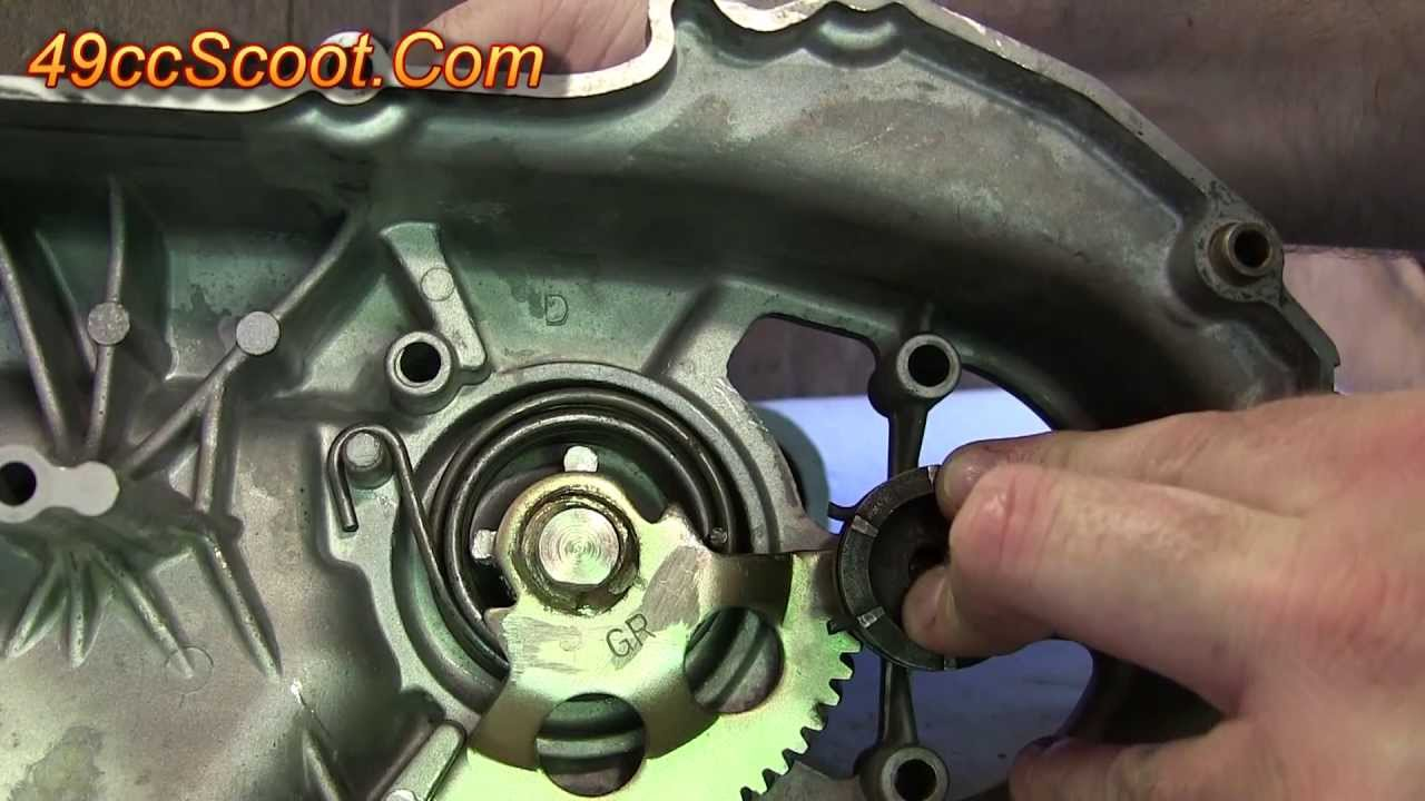 50 90cc Minarelli Scooter Youth Atv Kickstart Installation How To Tao Vip 50cc Wiring Diagram Kick Start Starter Youtube