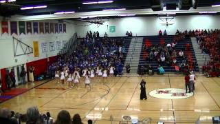 Class Yell Competition Homecoming Nathan Hale High School 10/17/14