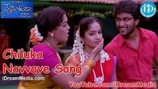 Download Snehituda Telugu Movie Songs - Chiluka Navvave Song - Nani - Madhavi Latha - Sivaram Shankar MP3 song and Music Video