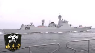 实拍中国海军2艘新战舰7昼夜演练 052DL与052D同台亮相「威虎堂」20201022 | 军迷天下 - YouTube