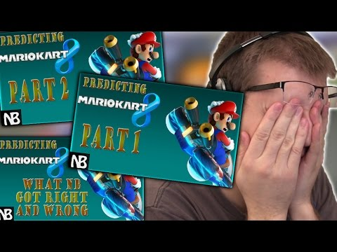 REACTING TO PREDICTING MARIO KART 8