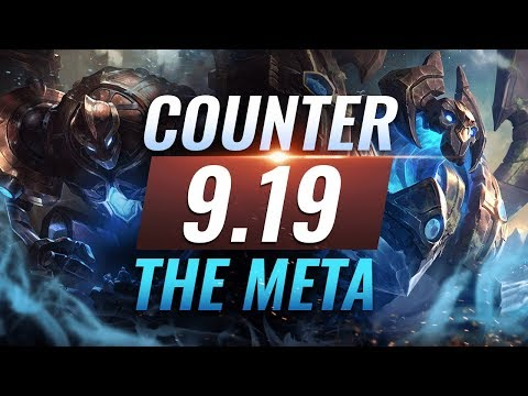 Counter The Meta: BEST Counterpicks For EVERY ROLE - Patch 9.19 - League of Legends Season 9