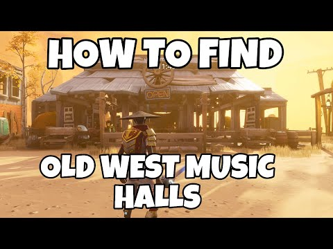 HOW TO FIND OLD WEST MUSIC HALLS IN FORTNITE SAVE THE WORLD