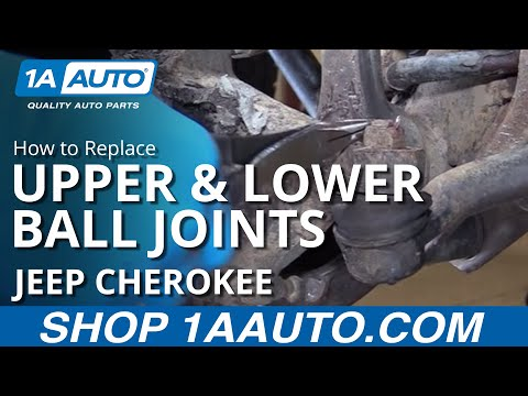 how to replace front upper \u0026 lower ball joints 90 01 jeep cherokeehow to replace front upper \u0026 lower ball joints 90 01 jeep cherokee youtube