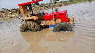 Swaraj 855 Toy Tractor homemade Testing In Mud
