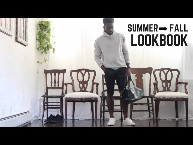 mens fashion | summer to fall lookbook 2018