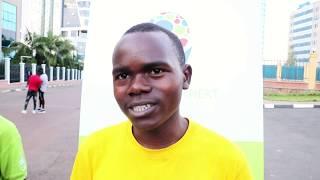 Dufatanye,19,akora imashini zitanga umurimo nk'uw'amashanyarazi