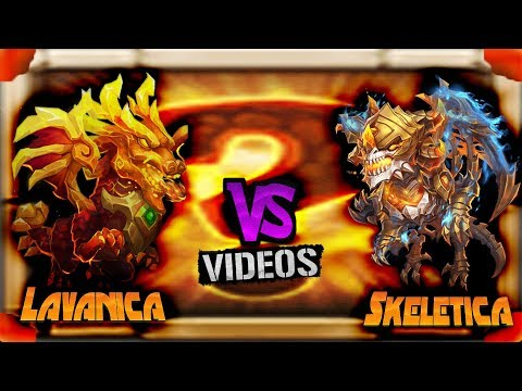 |CASTLE CLASH|  LAVANICA VS SKELETICA