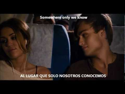 Keane - Somewhere only we know subtitulada ( Español - Ingles )