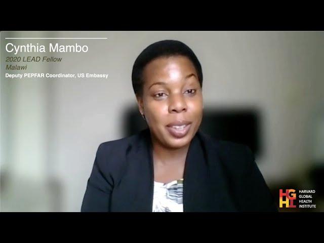 LEAD Fellow Spotlight - Cynthia Mambo, 2020 Cohort