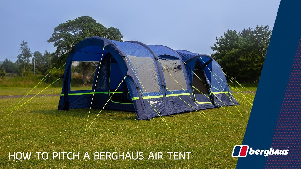 8ee44967cb3 How To Pitch A Berghaus Air Tent - YouTube