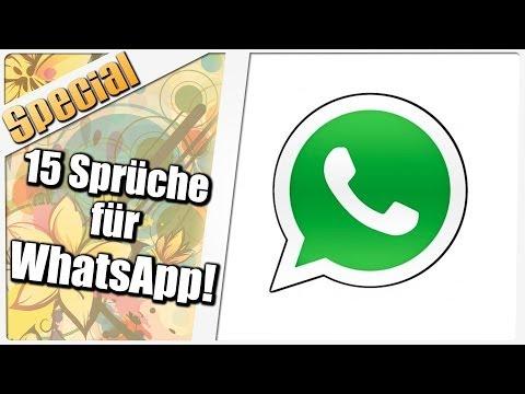 15 coole Sprüche für Deinen WhatsApp-Status!