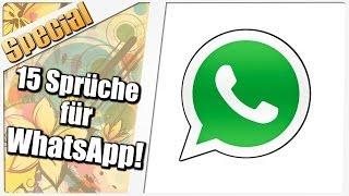 15 coole Sprüche für Deinen WhatsAppStatus