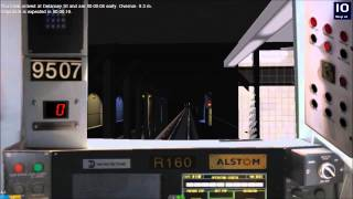 OpenBVE Time Lapse: NYCTA (F) Line