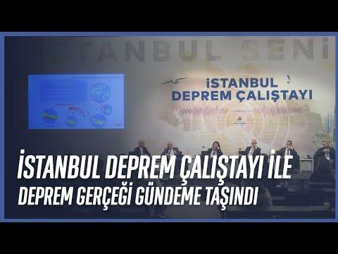 İstanbul Deprem Çalıştayı Bitti
