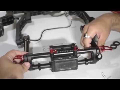 CineMilled DJI Ronin Extended Tilt Arms - Installation Tutorial